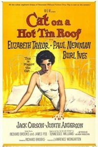 Caratula, cartel, poster o portada de La gata sobre el tejado de zinc