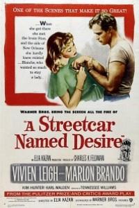 Caratula, cartel, poster o portada de Un tranvía llamado Deseo