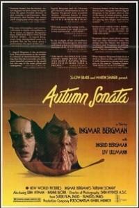 Caratula, cartel, poster o portada de Sonata de otoño