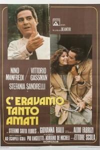Caratula, cartel, poster o portada de Una mujer y tres hombres (Nos habíamos amado tanto)