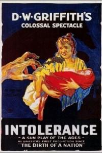Caratula, cartel, poster o portada de Intolerancia
