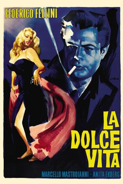 Caratula, cartel, poster o portada de La dolce vita
