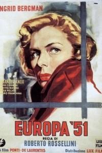 Caratula, cartel, poster o portada de Europa \'51