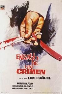 Caratula, cartel, poster o portada de Ensayo de un crimen