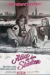 Caratula, cartel, poster o portada de Alicia en las ciudades