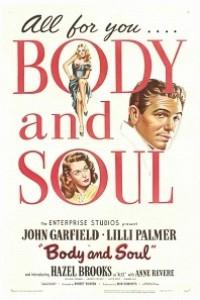 Caratula, cartel, poster o portada de Cuerpo y alma