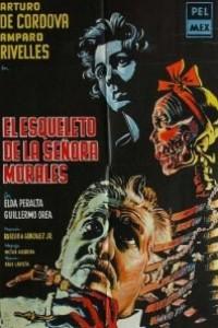 Caratula, cartel, poster o portada de El esqueleto de la señora Morales