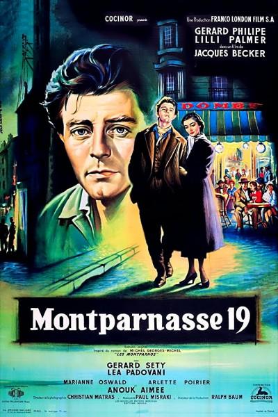 Caratula, cartel, poster o portada de Los amantes de Montparnasse
