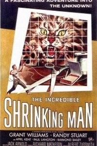 Caratula, cartel, poster o portada de El increíble hombre menguante