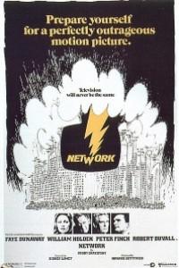 Caratula, cartel, poster o portada de Network, un mundo implacable