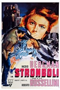 Caratula, cartel, poster o portada de Stromboli, tierra de Dios