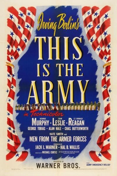 Caratula, cartel, poster o portada de Esto es el ejército