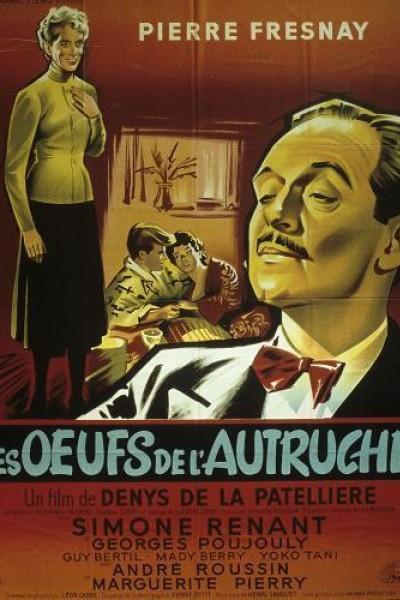 Caratula, cartel, poster o portada de Les oeufs de l\'autruche