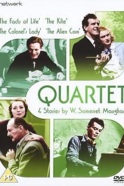 Caratula, cartel, poster o portada de Cuarteto