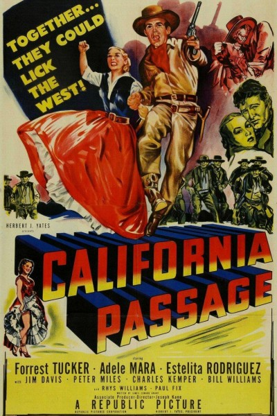 Caratula, cartel, poster o portada de California Passage