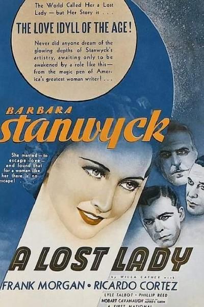 Caratula, cartel, poster o portada de Una dama perdida