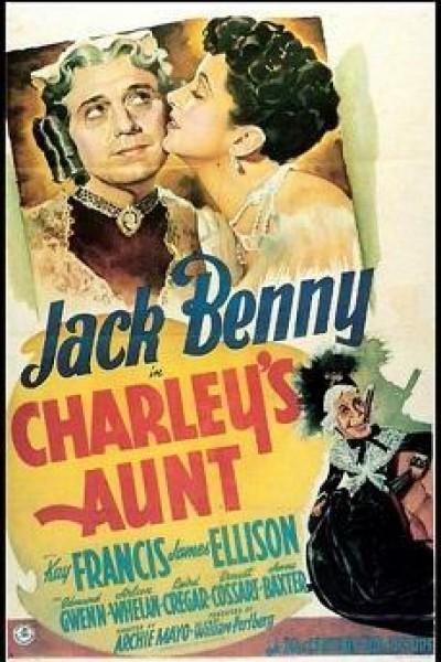 Caratula, cartel, poster o portada de La tía de Carlos
