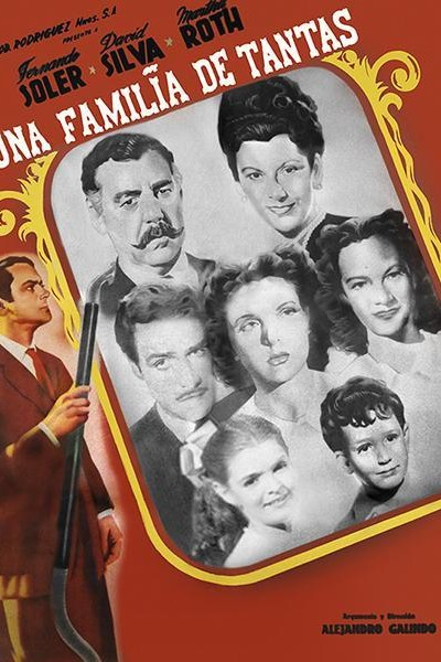 Caratula, cartel, poster o portada de Una familia de tantas