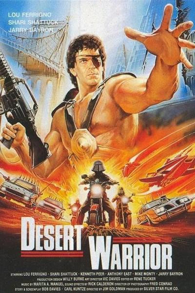 Caratula, cartel, poster o portada de El guerrero del desierto