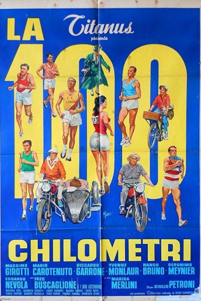 Caratula, cartel, poster o portada de La cento chilometri