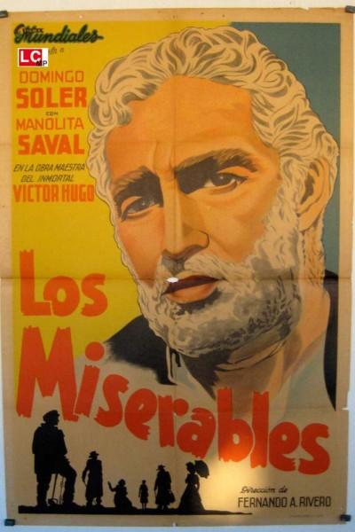 Caratula, cartel, poster o portada de Los miserables