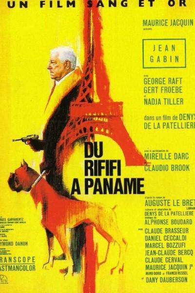 Caratula, cartel, poster o portada de Du rififi à Paname (Rififi in Panama)