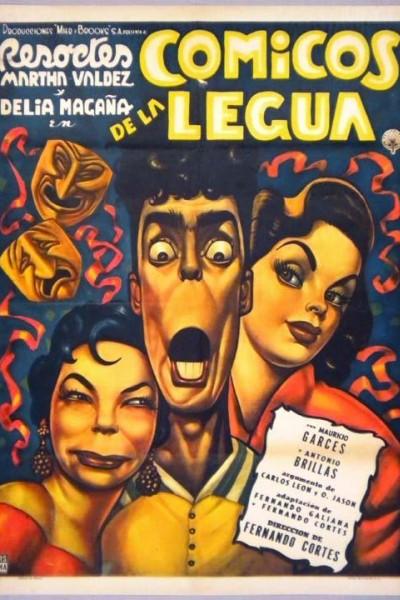 Caratula, cartel, poster o portada de Cómicos de la legua