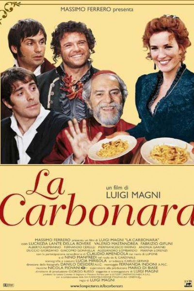 Caratula, cartel, poster o portada de La carbonara