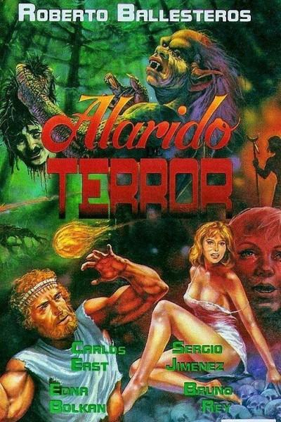 Caratula, cartel, poster o portada de Alarido del terror