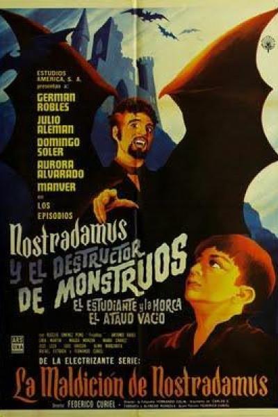 Caratula, cartel, poster o portada de Nostradamus y el destructor de monstruos