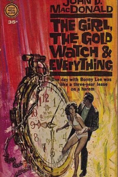 Caratula, cartel, poster o portada de La chica, el reloj de oro y todo lo demás