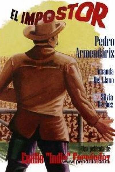 Caratula, cartel, poster o portada de El impostor