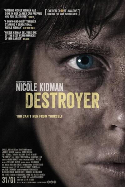 Caratula, cartel, poster o portada de Destroyer. Una mujer herida