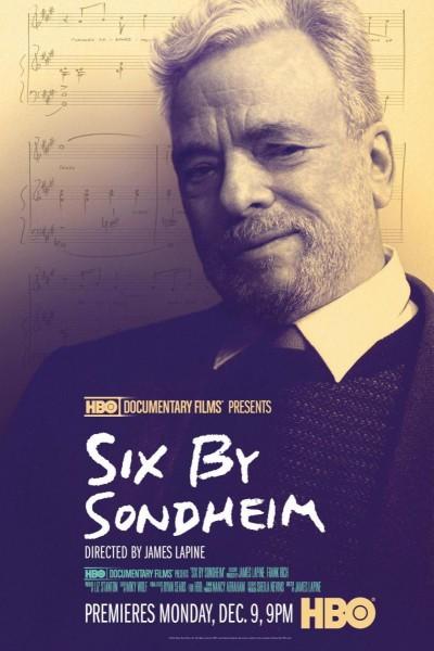 Caratula, cartel, poster o portada de Stephen Sondheim en seis canciones