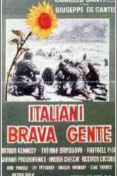 Caratula, cartel, poster o portada de Italianos buena gente