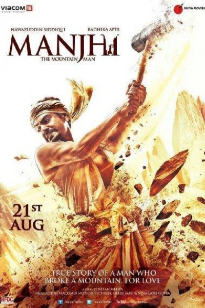 Caratula, cartel, poster o portada de Manjhi: The Mountain Man