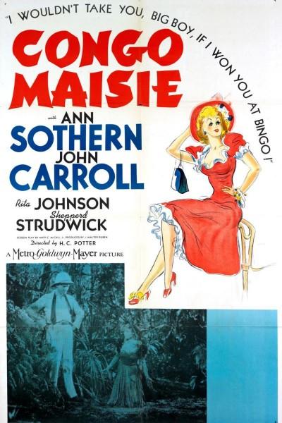 Caratula, cartel, poster o portada de Congo Maisie