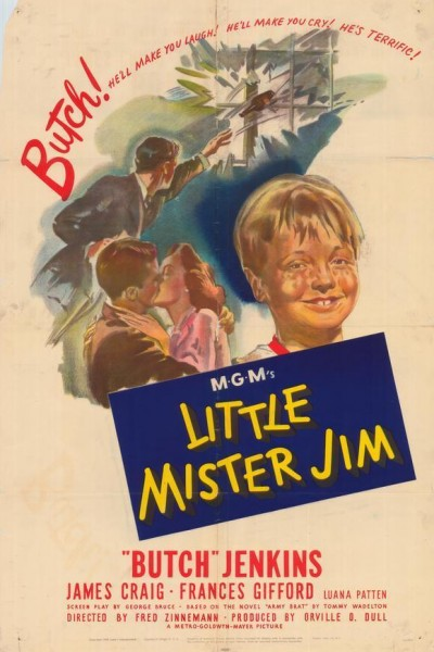 Caratula, cartel, poster o portada de El pequeño míster Jim