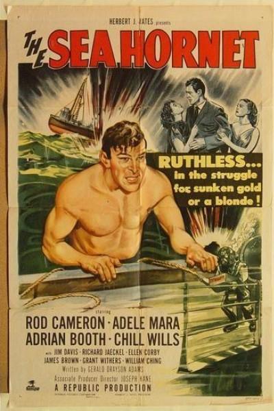 Caratula, cartel, poster o portada de The Sea Hornet