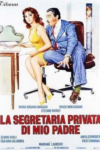 Caratula, cartel, poster o portada de La secretaria privada de mi padre