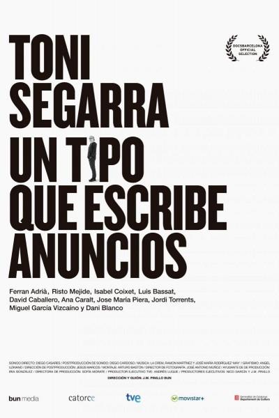 Caratula, cartel, poster o portada de Toni Segarra: un tipo que escribe anuncios
