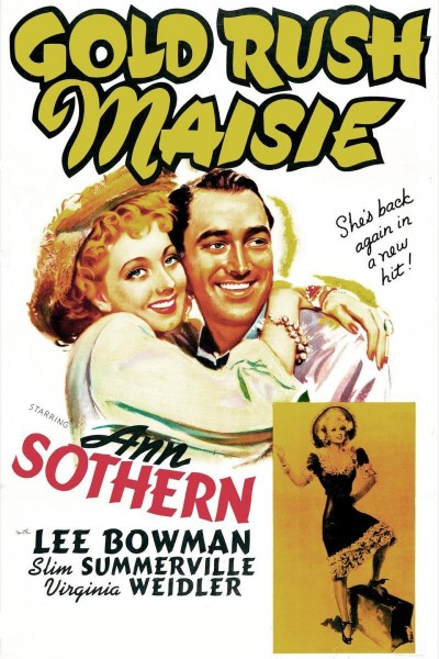 Caratula, cartel, poster o portada de Gold Rush Maisie