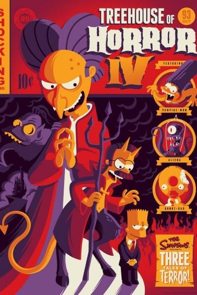 Caratula, cartel, poster o portada de Los Simpson: La casa-árbol del terror IV