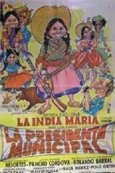 Caratula, cartel, poster o portada de La presidenta municipal