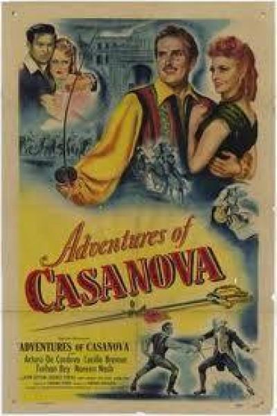Caratula, cartel, poster o portada de Casanova aventurero