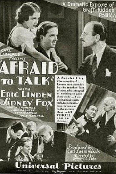 Caratula, cartel, poster o portada de Afraid to Talk