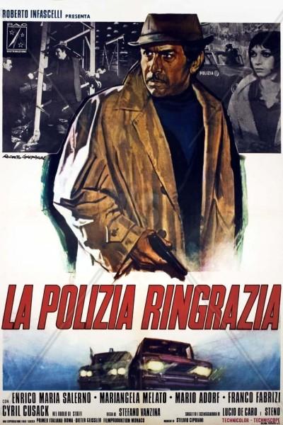 Caratula, cartel, poster o portada de La policía agradece