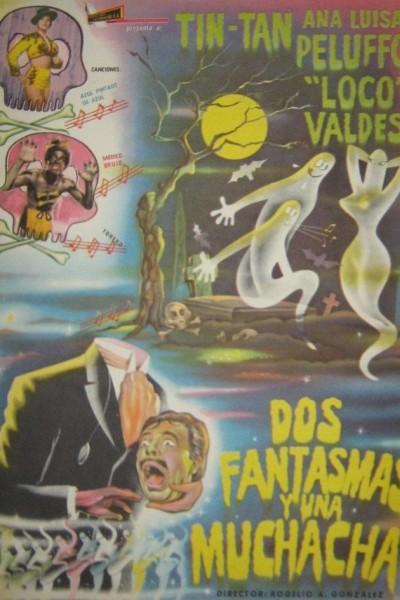 Caratula, cartel, poster o portada de Dos fantasmas y una muchacha