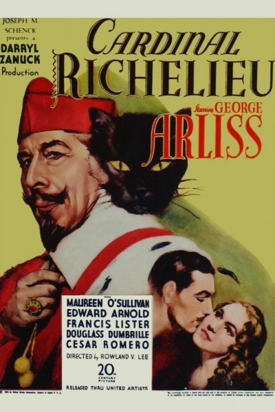 Caratula, cartel, poster o portada de El cardenal Richelieu