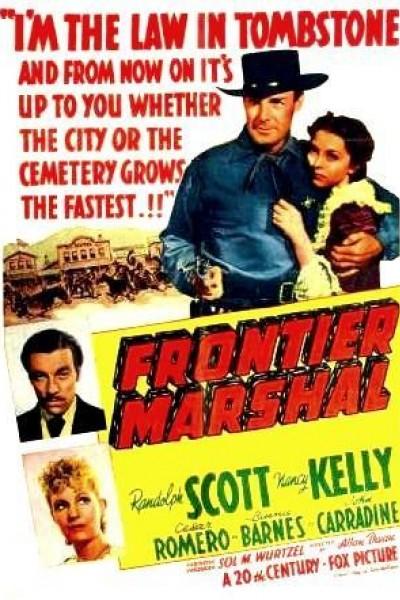 Caratula, cartel, poster o portada de Frontier Marshal